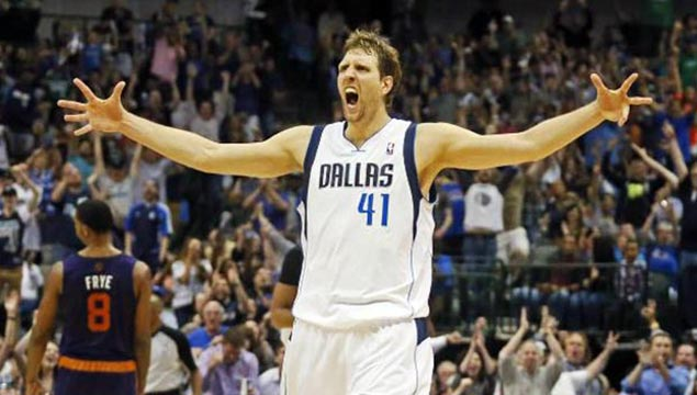 Dallas Mavericks NBA play off Spot