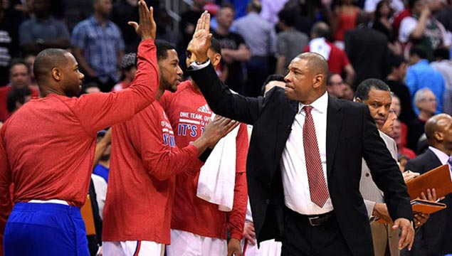 Doc Rivers Clippers coach NBA Playoffs