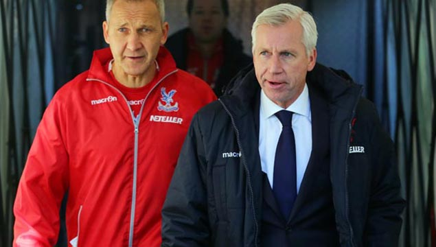 Crystal Palace  Alan Pardew and Keith Millen
