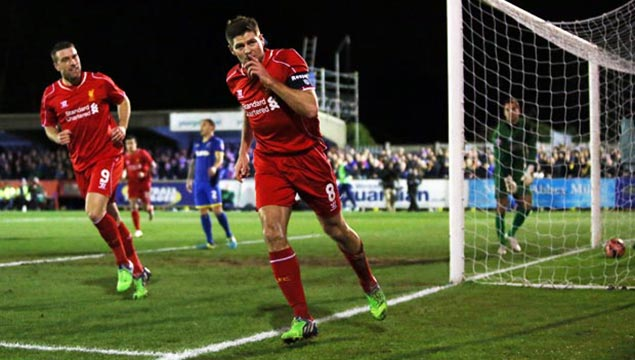 Liverpool Steven Gerrard FA Cup