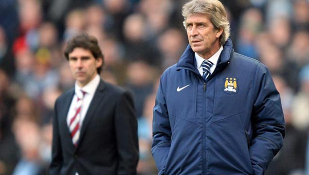 Manuel Pellegrini Man City v Middlesbrough FA Cup