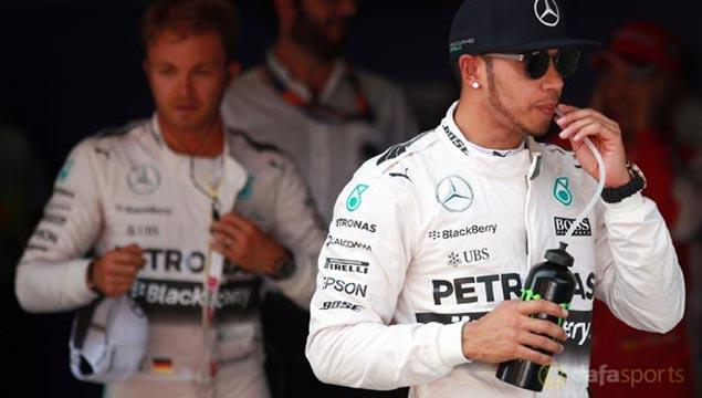Mercedes-Lewis-Hamilton-and-Nico-Rosberg-F1-Spanish-GP