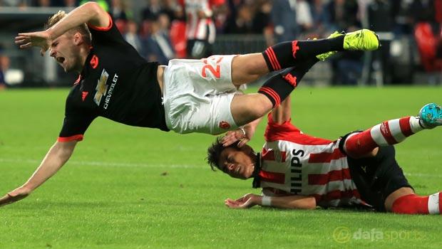 Luke-Shaw-Man-United-v-PSV-Eindhoven