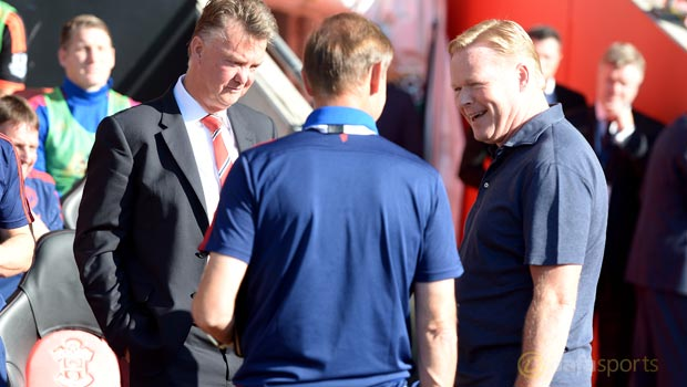 Manchester-United-Louis-van-Gaal-and-Southampton-Ronald-Koeman