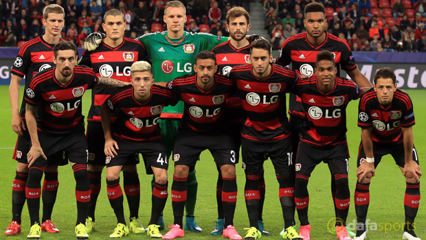 Bayer-04-Leverkusen-team-group-Champions-League